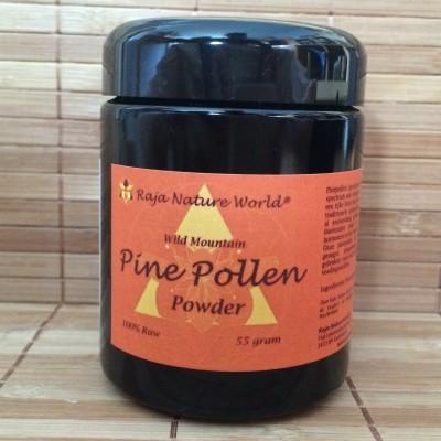 Pine pollen powder wild raja nature world
