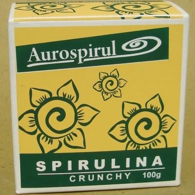 Aurospirul Spirulina crunchy